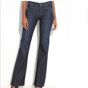 NWOT Citizens of Humanity Hutton Mid-Rise Wide leg